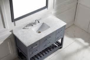 virtu usa caroline estate 48 inch single bathroom vanity