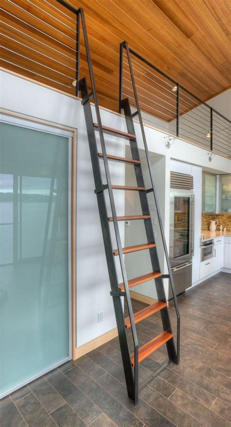 25 best ideas about loft ladders on cabin