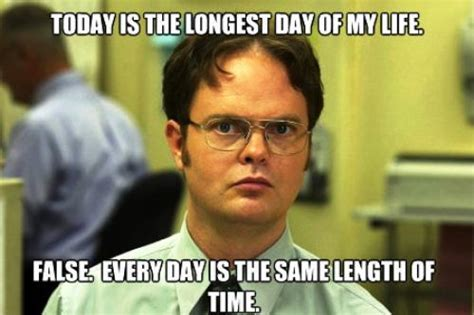 Days Of Our Lives Meme - schrute facts twelve hilarious dwight isms