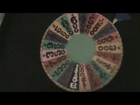 How To Make Your Own Wheel Of Fortune Youtube How To Make Your Own Wheel Of Fortune