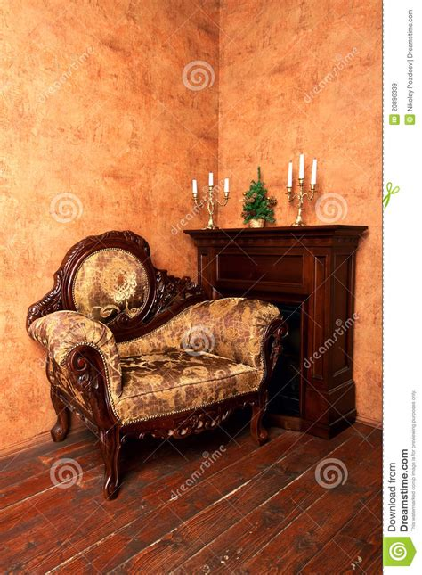 old fashioned armchairs old fashioned interior with luxury armchair royalty free stock images image 20896339