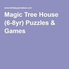 magic tree house games magic tree houses tree houses and house party on pinterest