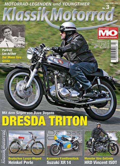 Motorrad Classic Magazin by Klassik Motorrad 3 2015 Motorrad Magazin Mo