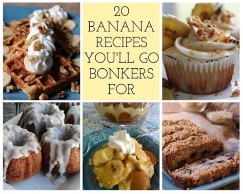 20 banana recipes that you 20 banana recipes you ll go bonkers for just a pinch