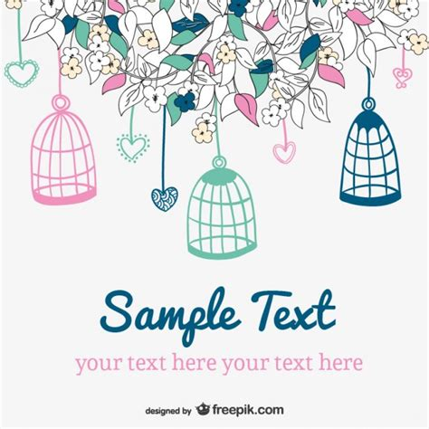 doodle eps free vector doodle wedding invitation vector free