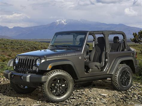 Jeep Foto Fotos De Jeep Wrangler Willys Wheeler 2014
