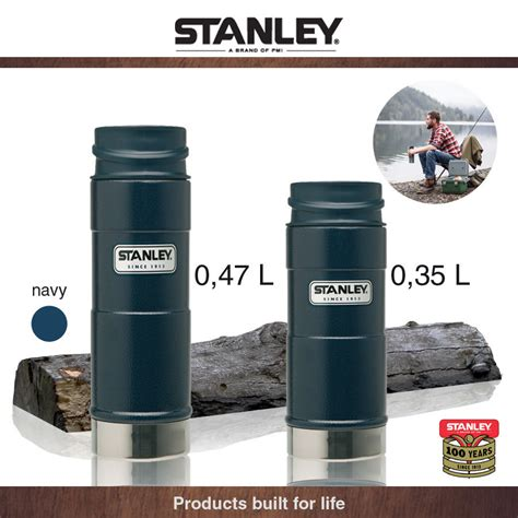 Stanley   Outdoor   One Hand Mug, navy 0,35 L   Cookfunky
