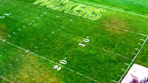 Backyard Football Stadium by Lambeau Field In Backyard