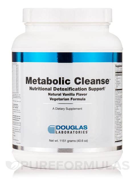 Metabolic Detox by Metabolic Cleanse Vegetarian Formula Vanilla