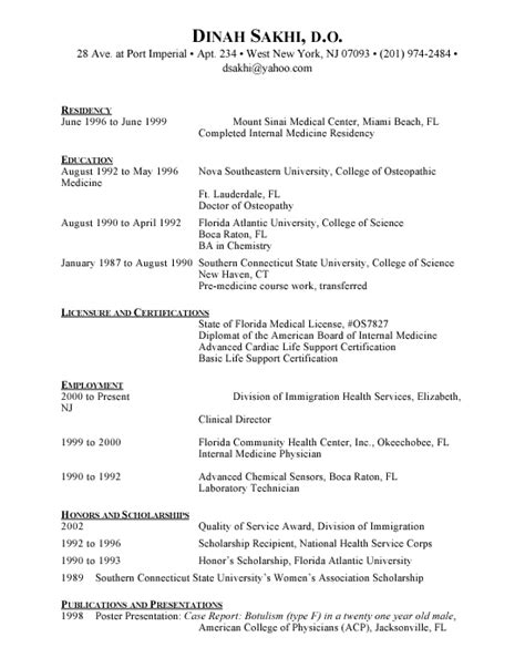 Resume Summary Exle Cna Nursing Assistant Resume Description Resume For Cna