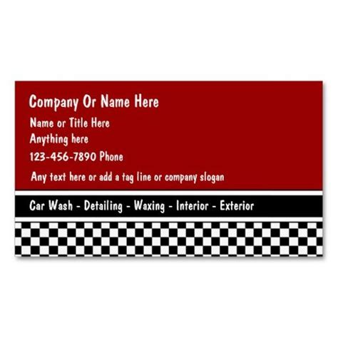 car detailing business card template 78 best images about auto detailing business cards on