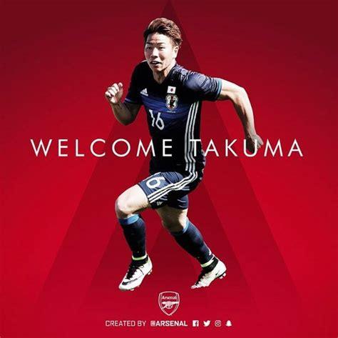 arsenal japanese player confirmed arsenal sign japanese striker takuma asano