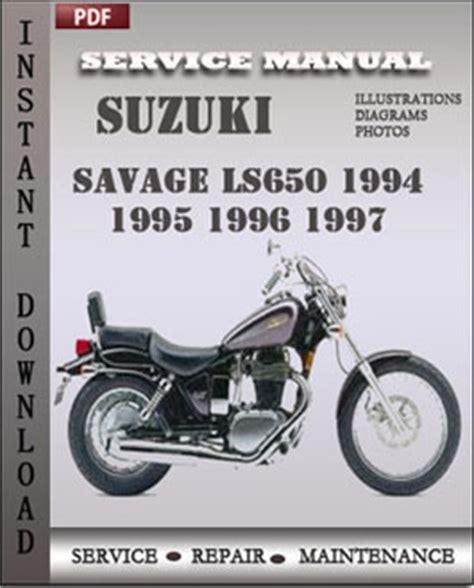 small engine repair manuals free download 1996 suzuki sidekick electronic throttle control suzuki savage ls650 1994 1995 1996 1997 service manual download repair service manual pdf