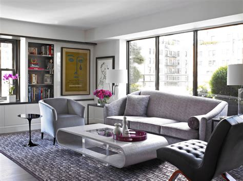 modern apartment nyc contemporary living room new york by michel arnaud