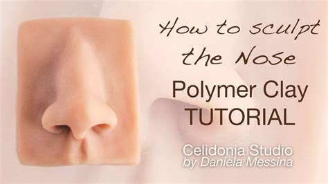 doll sculpting tutorial how to sculpt the nose ooak polymer clay tutorial