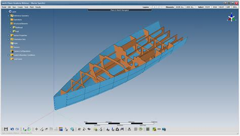 design criteria of marine structure design of sailing yachts and motor boats scantling main