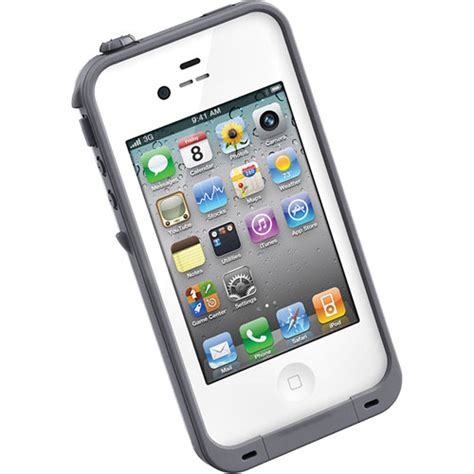 h iphone 4s lifeproof for iphone 4 4s white 1001 02 b h photo