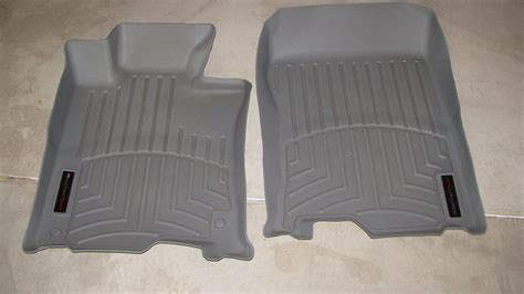 sold weathertech floor liners for 2g tsx 2009