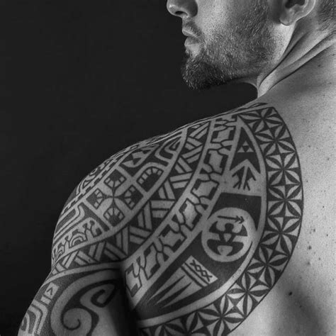 tribal tattoos on back for guys in the back for mens images for tatouage