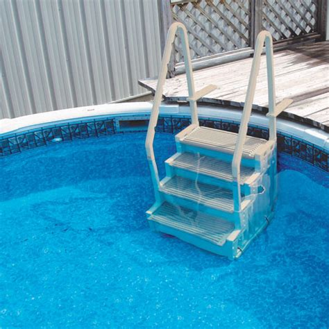 above ground pool steps pool accessories amp steps in