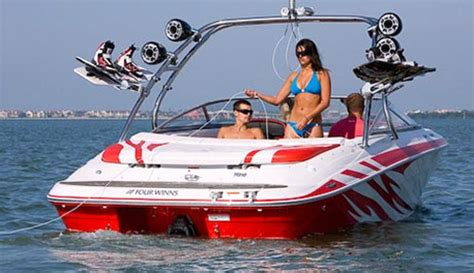 wake boat setup wake boarding wake surfing waterskiing or tubing