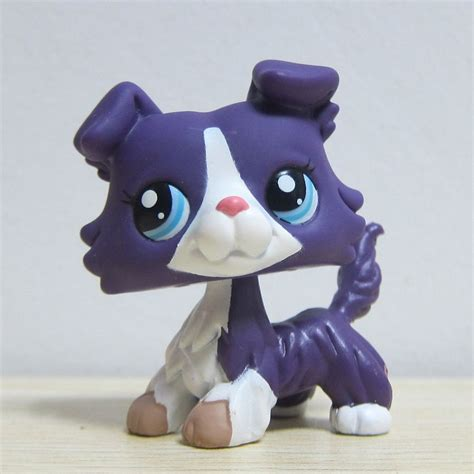 lps ebay dogs hasbro littlest pet shop collection lps animals purple collie pug ebay