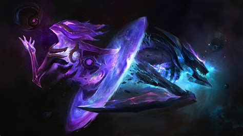 wallpaper 4k lol dark star orianna khazix lol 4k wallpaper uhd images