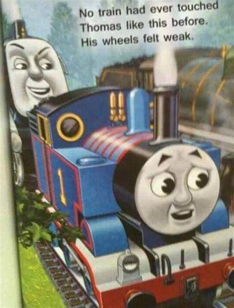 Thomas The Tank Engine Face Meme - kinkshameme thomas the tank engine know your meme
