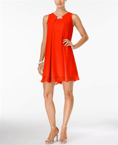 Style Co Dress style co sleeveless hardware swing dress only at macy