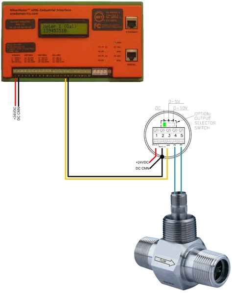 3 wire amr wiring diagram to meter remote winch