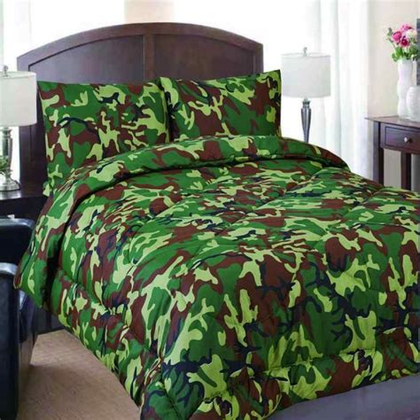 army comforter queen military camouflage reversible comforter