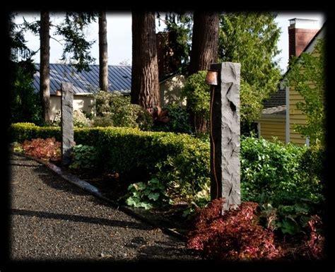 handmade chinese basalt outdoor bollard light temple garden lights custommadecom