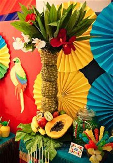 Events That Sparkle A Luau Carnival Theme Blue Feathers Sparkle