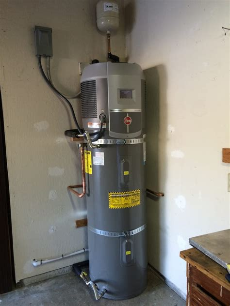 rheem water heater reviews rheem hybrid heat water heater yelp