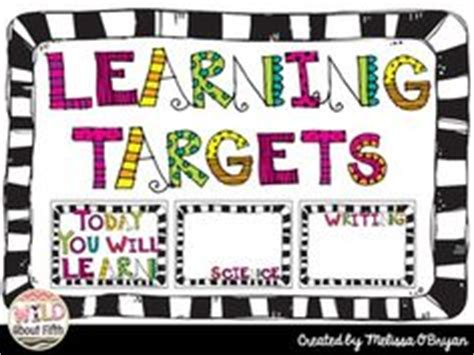 free printable learning targets places student and the o jays on pinterest