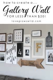 Miss these gallery wall ideas plus my easy hanging trick