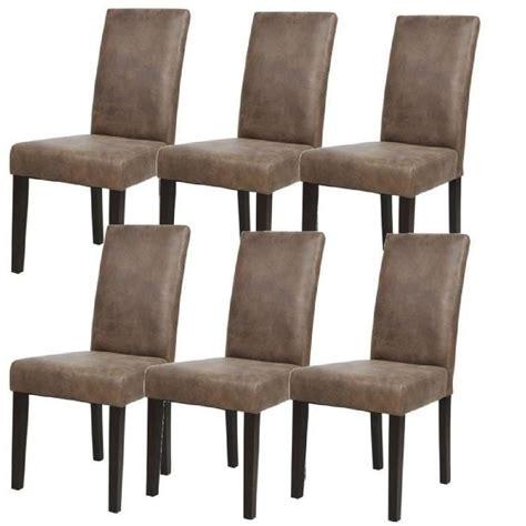 chaises marron achat vente chaises marron pas cher