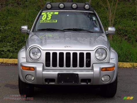 jeep renegade silver 2003 jeep liberty renegade 4x4 in bright silver metallic