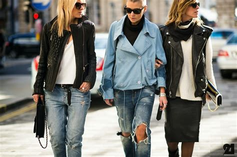 Rock Chic Biker Meets Beatnik In Lace And Leather by Rock Style Www Pixshark Images Galleries With
