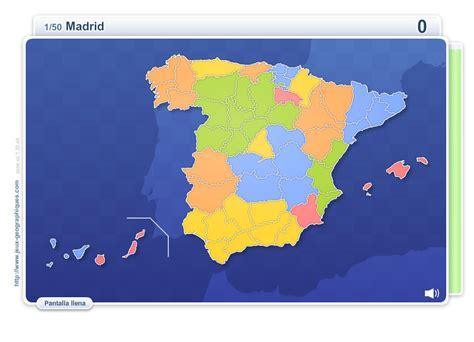 espa 241 a y sus comunidades aut 243 nomas las comunidades autonomas para nios mapa interactivo de espa 241 a provincias de espa 241 a juegos