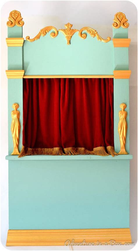 puppet show curtain puppet theatre shadow theatre of vintage inspiration