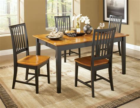 dining essentials black cherry rectangular dining table