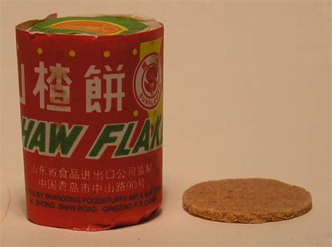 San Cha Haw Flakes 100g haw flakes