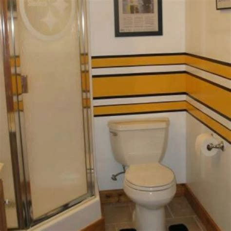 steelers bathroom 8 best steelers room images on pinterest pittsburgh