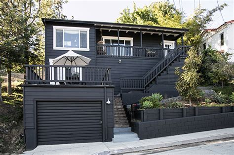 black painted house paint it black sfgirlbybay