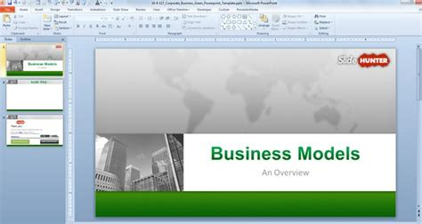 Free Corporate Business Powerpoint Template 16 9 Free Powerpoint Templates Slidehunter Com Business Slide Presentation Template