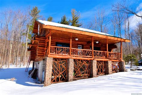 Catskills Ny Cabin Rentals by Fancified Log Cabin In The Northern Catskill Mountains