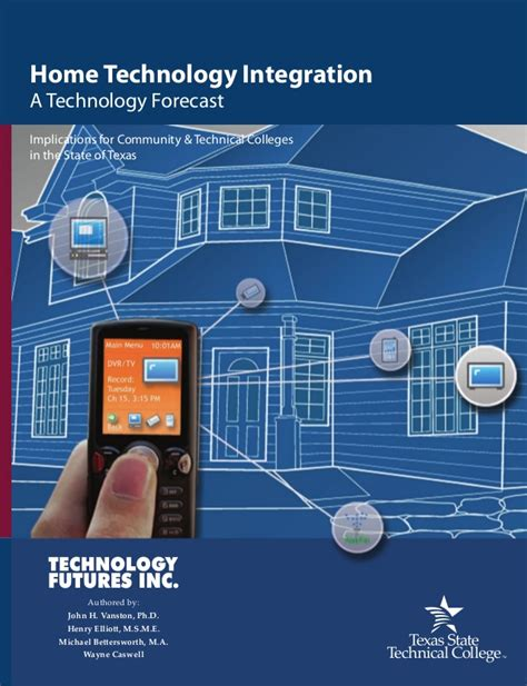 in home technologies home technology integration tstc forecast 2007