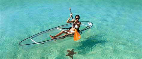 clear kayak transparent kayak