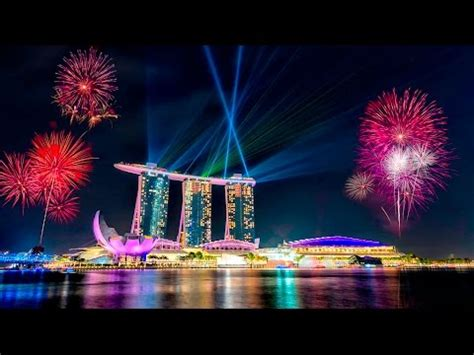 new year singapore fireworks 2016 a happy new year 2016 singapore fireworks marina